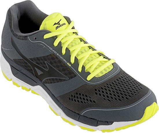 Mizuno Synchro MX Hardloopschoenen - Maat 46 - Mannen - grijs/zwart/geel