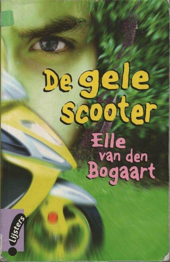 De gele scooter