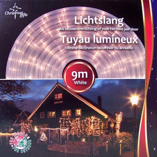Maxx Lichtslang - 9 meter - wit - Lichtsnoer Valentinaa