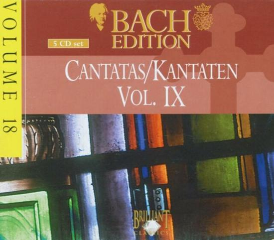 Bach Edition, Vol. 18, Cantatas Vol. IX