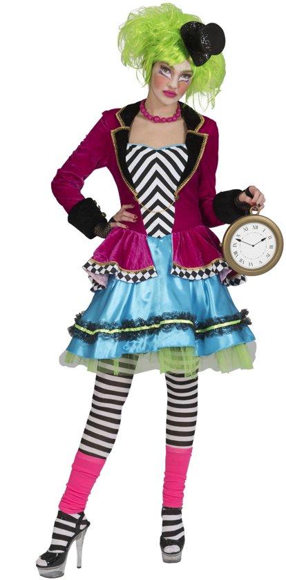 Halloween Kostuum Vrouw.Horror Halloween Kostuum Wicked Mad Hatter Vrouw Maat 44 46 Halloween Verkleedkleding