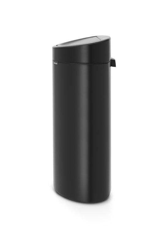 Brabantia Touch Bin 40 Liter Matt Black