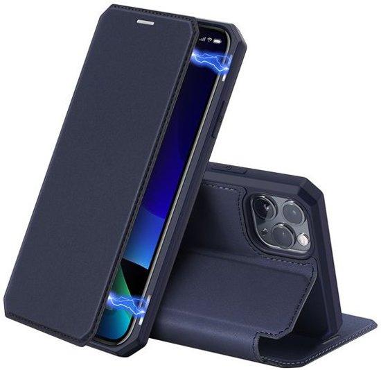 Dux Ducis Skin X Series Apple iPhone 11 Pro Max Flip Hoesje Blauw