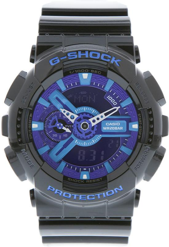 G-Shock GA-110HC-1AER - Horloge - 52 mm - Kunststof - Zwart