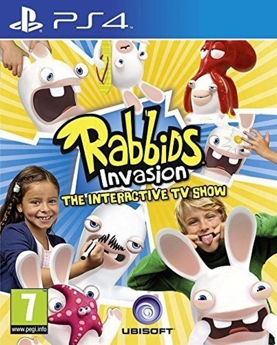 Rabbids Invasion /PS4