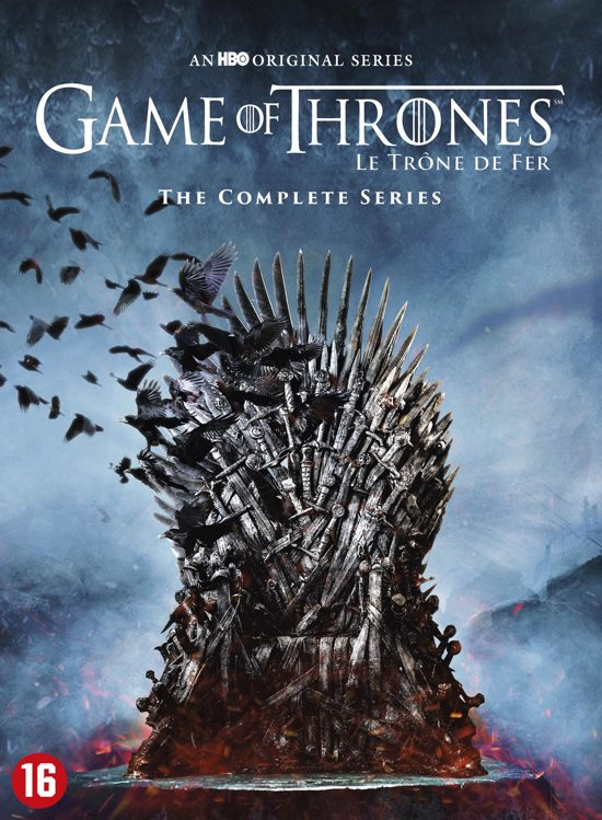 DVD cover van Game of Thrones - The Complete Collection: Seizoen 1 t/m 8