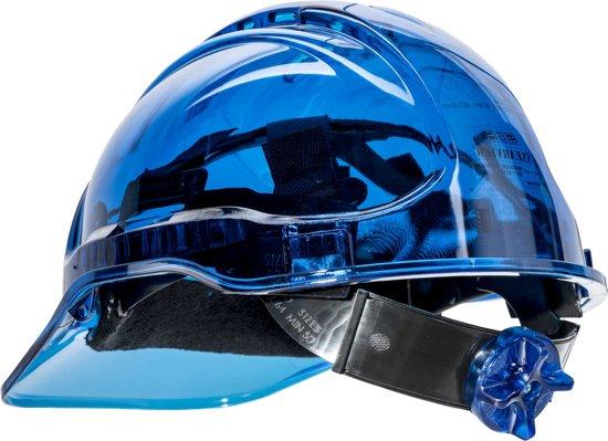 Veiligheidshelm Transparant Blauw - PV60
