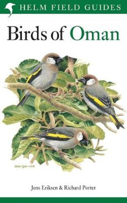 Birds of Oman cover