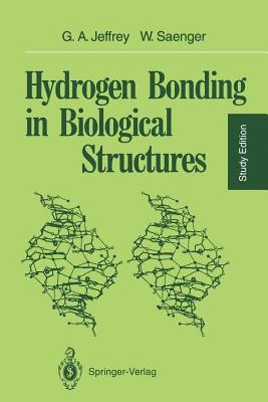bol.com | Hydrogen Bonding in Biological Structures ... Rosetta Stone Engels
