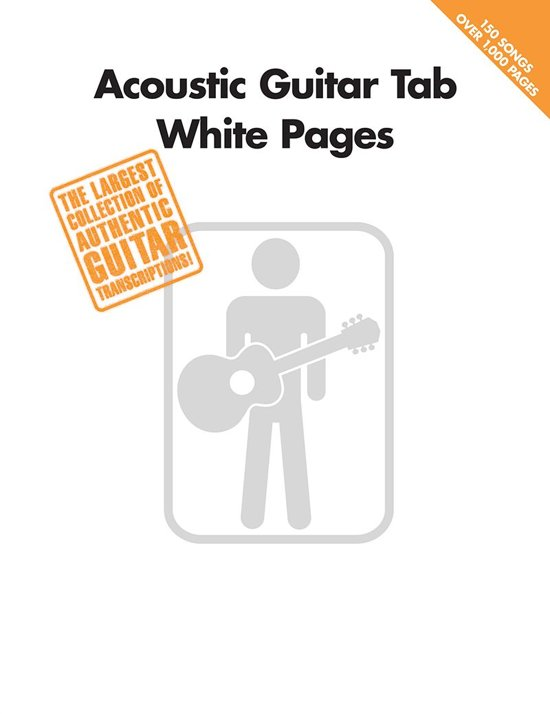 Bol Acoustic Guitar Tab White Pages Songbook Ebook Hal