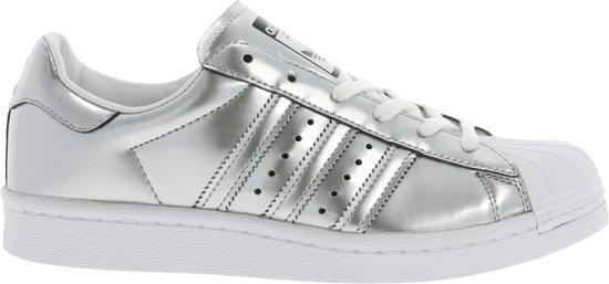 adidas superstar wit met zilver