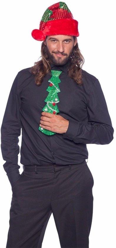 Foute Kersttrui Led.Bol Com Glitter Kerstboom Stropdas Met Led Voor Volwassenen