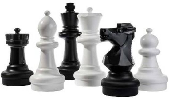 Afbeelding van het spel Schaken Tuin Groot - 31 cm