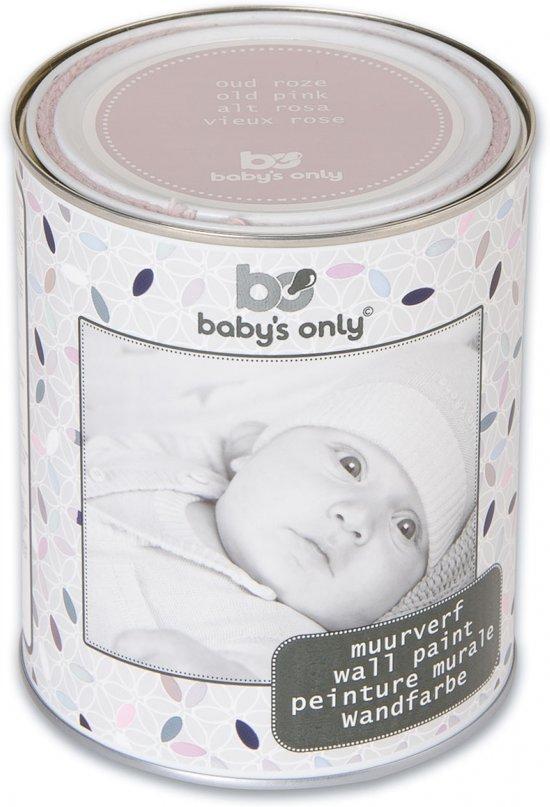 Voorkeur bol.com | Baby's Only - Muurverf 1 Liter - Oud Roze VQ35