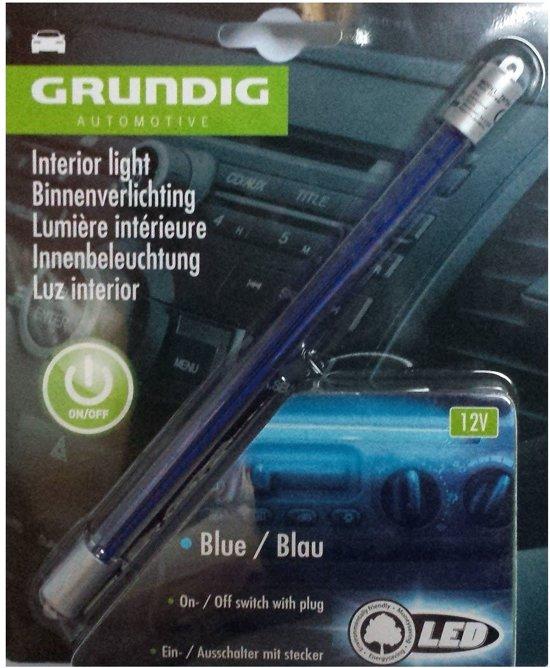 bol.com | Led Binnen verlichting voor auto Blauw