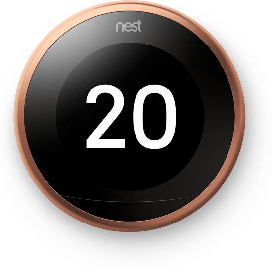 Nest Learning Thermostat V3 Premium Koper