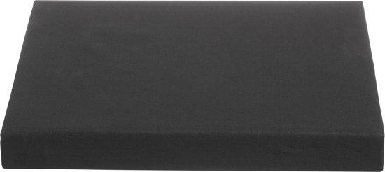 Ambiante Percaline - Splittopper Hoeslaken - 200x220 cm - Antraciet