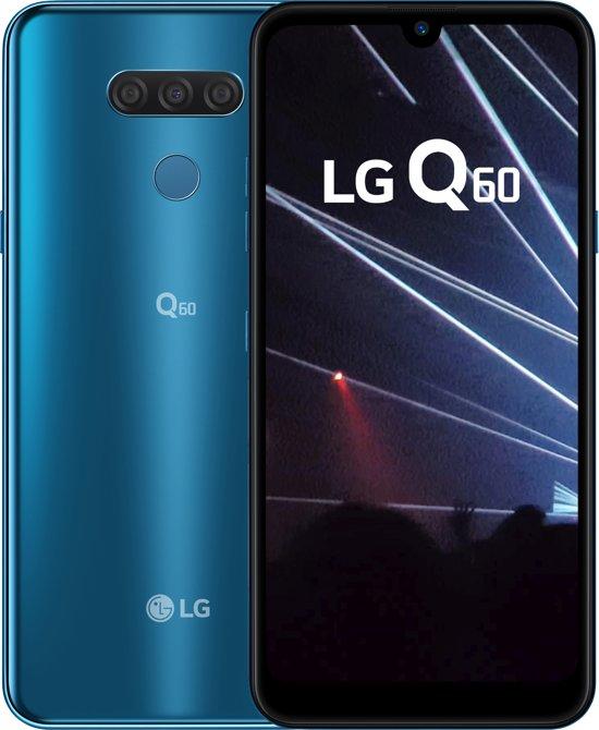 LG Q60 - 64GB - New Moroccan Blue (Blauw)
