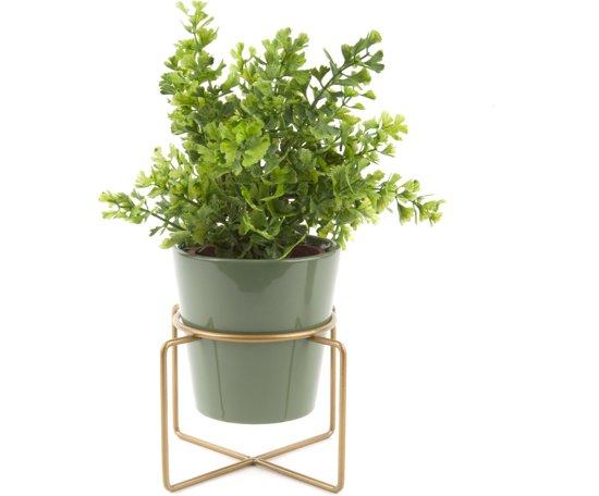 Present Time bloempot Coy groen