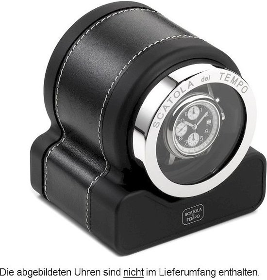 Scatola del Tempo Watchwinder Rotor One HdG black
