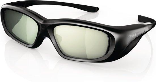 92cfc58bcd386d Philips PTA508 - 3D bril actief - Zwart