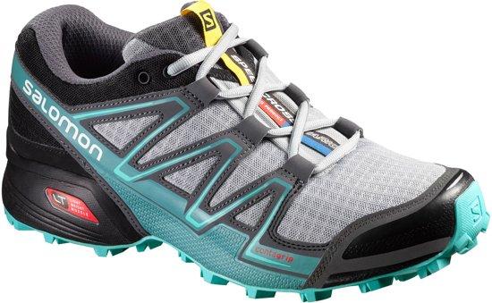 2f70388b26e Salomon Speedcross Vario Trail Hardloopschoenen - Maat 39 1/3 - Vrouwen -  grijs/