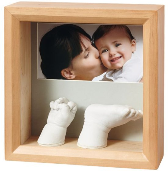 82461174 bol.com | Baby Art my baby sculpture frame Honey Naturel
