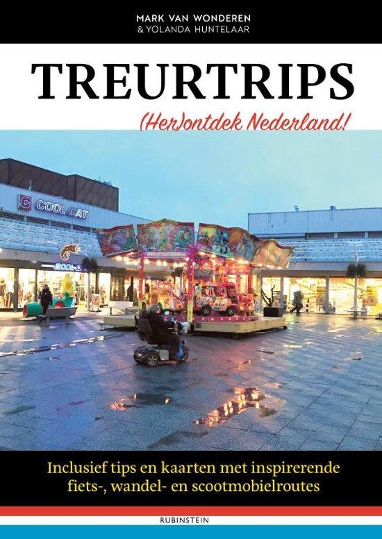 Boek cover Treurtrips van Mark van Wonderen (Hardcover)