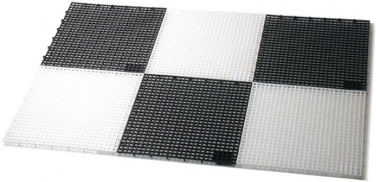 Afbeelding van het spel Buiten plastic schaakbord - voor stukken 31 cm