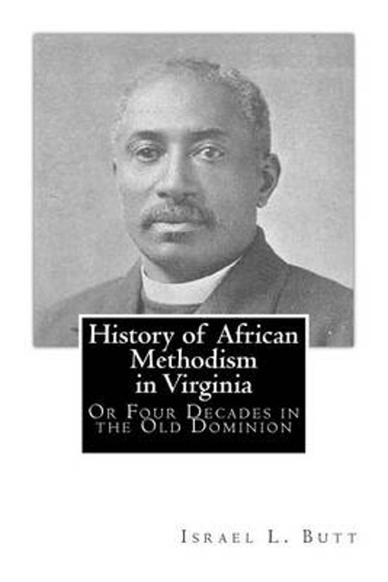 History of African Methodism in Virginia