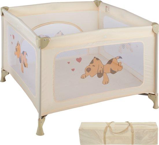 Campingbedje Prenatal Groen.Bol Com Tectake Babybox Reisbox Opklapbaar Tommy Reisbed Beige