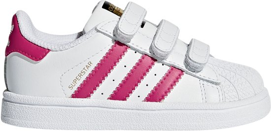 adidas originals wit roze