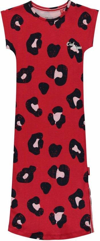 51fe7b93e0f7e2 Quapi jurk Sterre rouge red leopard