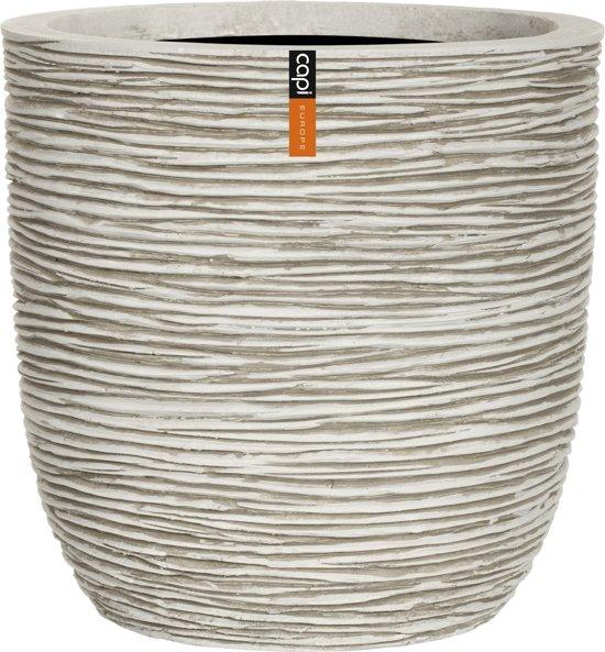 Capi Nature - Pot bol rib III 43x41 - ivoor