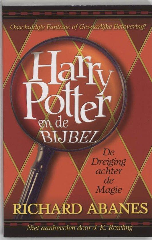 Cover van het boek 'Harry Potter en de Bijbel' van Richard Abanes