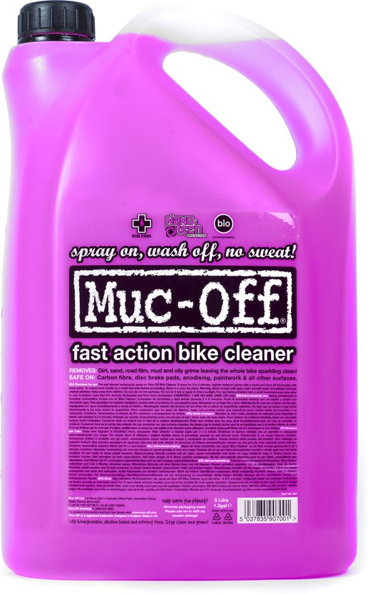 Muc-Off Bike Cleaner Fietsreiniger 5 Liter