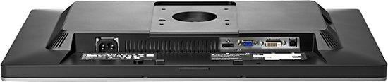 HP EliteDisplay E241i 24'' LED Zilver computer monitor
