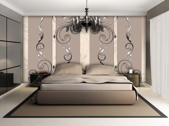 Fotobehang In Slaapkamer : Fotobehang design slaapkamer oranje cm fotobehangart
