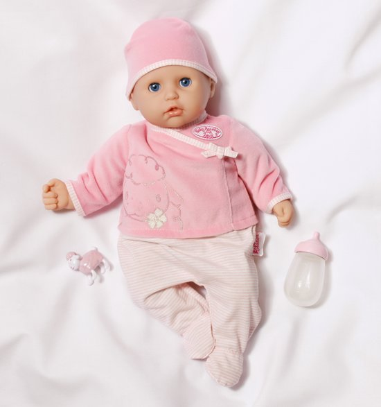Bol Com My First Baby Annabell Speelt Baby Pop Zapf