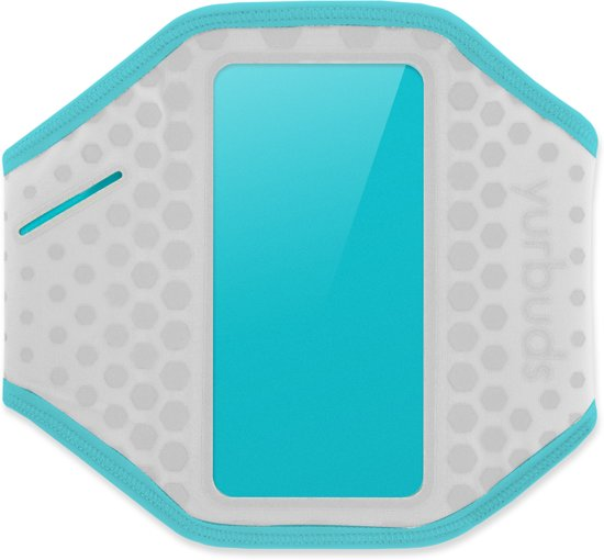 Yurbuds Universal Ergosport Armband - Grijs / Aqua Blauw