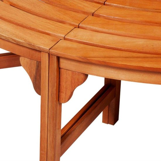 vidaXL Boombank 160 cm hout