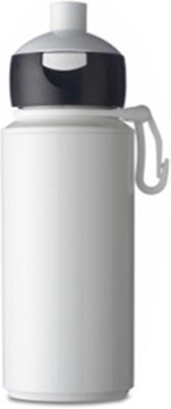 nieuw product authentiek online bestellen Mepal drinkfles campus pop-up 275 ml - wit