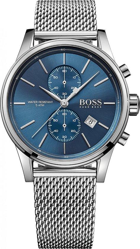 Hugo Boss HB1513441 Horloge - Staal - Zilverkleurig - Ø41 mm