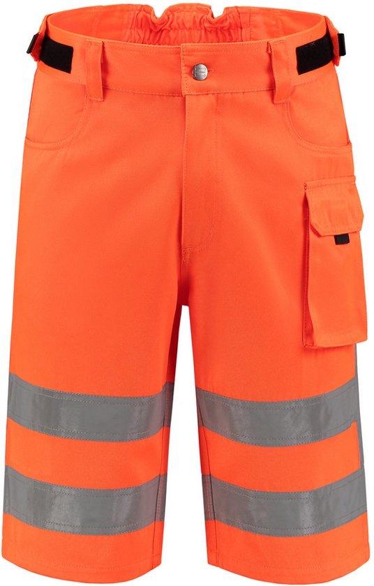 Tricorp Werkbroek RWS Kort  503006 Fluor Oranje - Maat 52