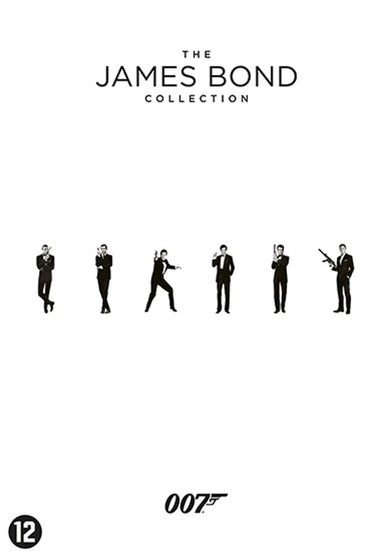 DVD cover van Bond Box Collection - 23 films