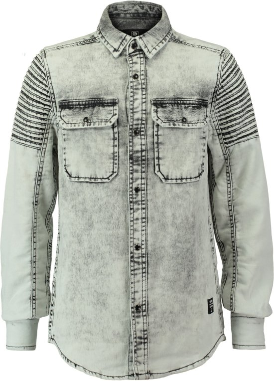 Blouse Of Overhemd.Bol Com Coolcat Blouse Overhemd Hdentuck Grey Cross 146 152