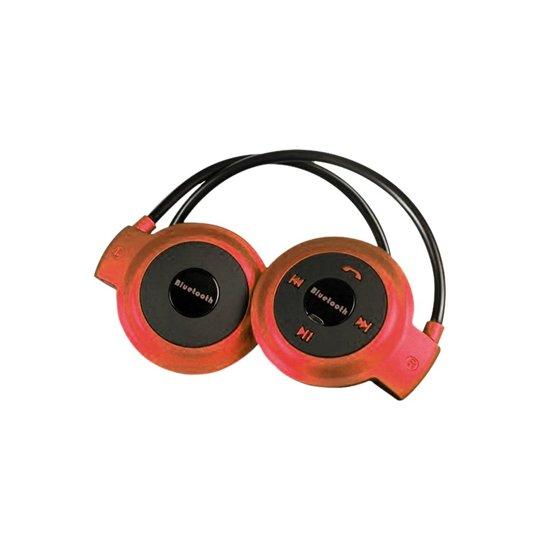 Draadloze Sport Oordopjes - Bluetooth Oortjes voor Hardlopen - On-ear Koptelefoon Rood