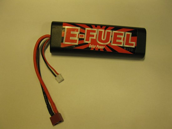 E-fuel hardcase lipo accu 7.4 volt 4200 mah  45C  60C burst met deans stekker