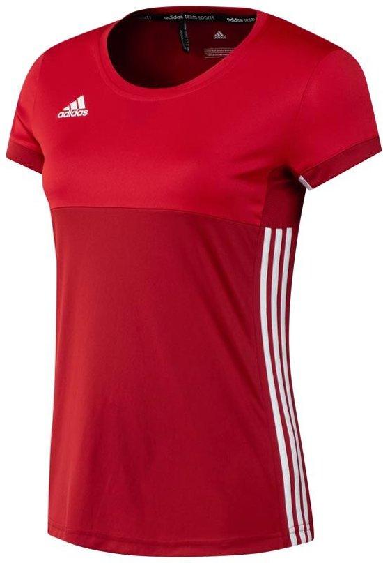 52b710959ae bol.com   Adidas T16 Climacool Short Sleeve Tee Women Red - Maat: xx ...