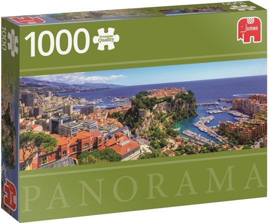 Monte Carlo Monaco Premium Quality panorama - Puzzel 1000 stukjes
